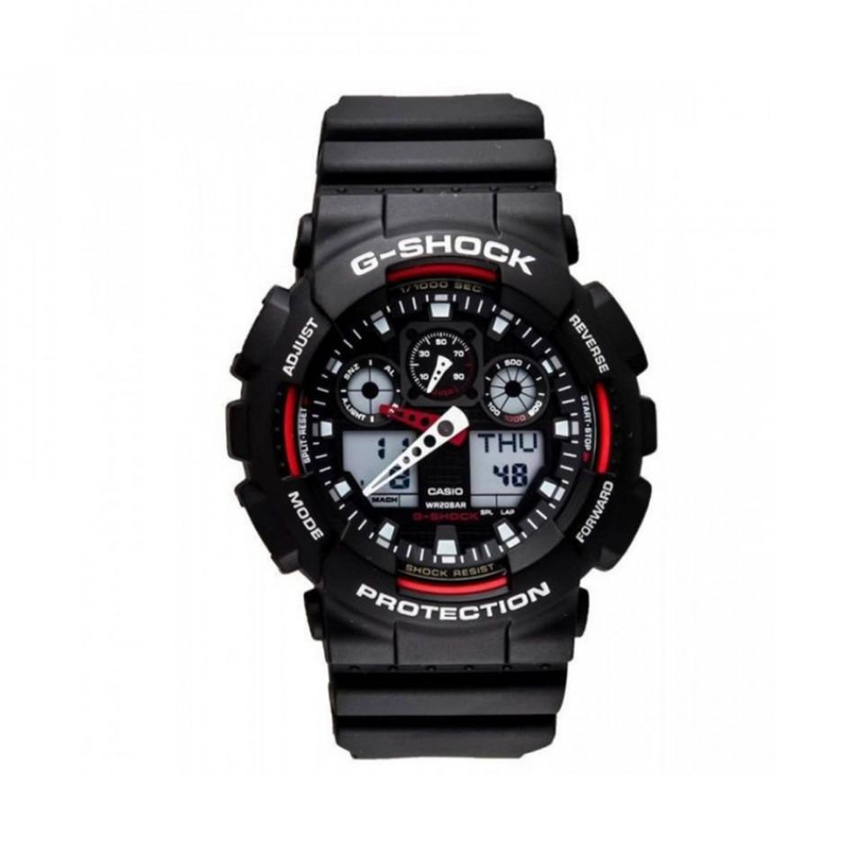 Ανδρικό ρολόι CASIO G-shock GA-100-1A4ER GA1001A4ER