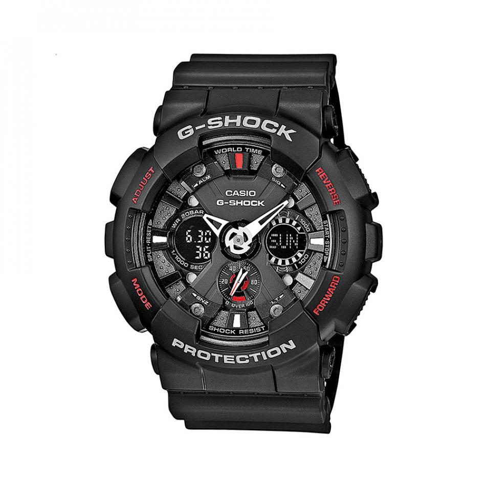 Ανδρικό ρολόι CASIO G-shock GA-120-1AER GA1201AER
