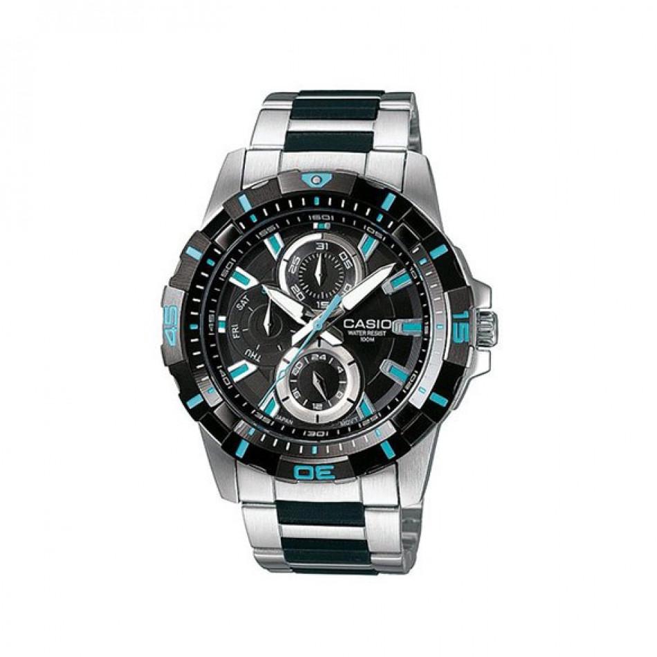 Ανδρικό ρολόι CASIO Collection MTD-1071D-1A1VEF  mtd1071d1a1vef