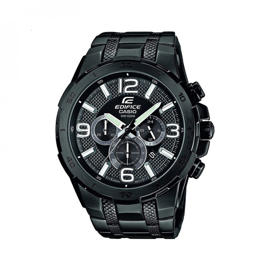 Ανδρικό ρολόι CASIO Edifice EFR-538BK-1AVUEF EFR538BK1AVUEF
