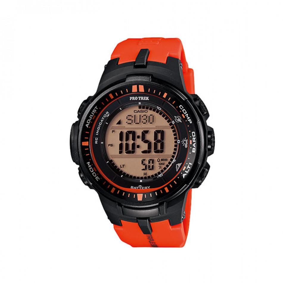 Ανδρικό ρολόι CASIO pro trek prw-3000-4er PRW30004ER