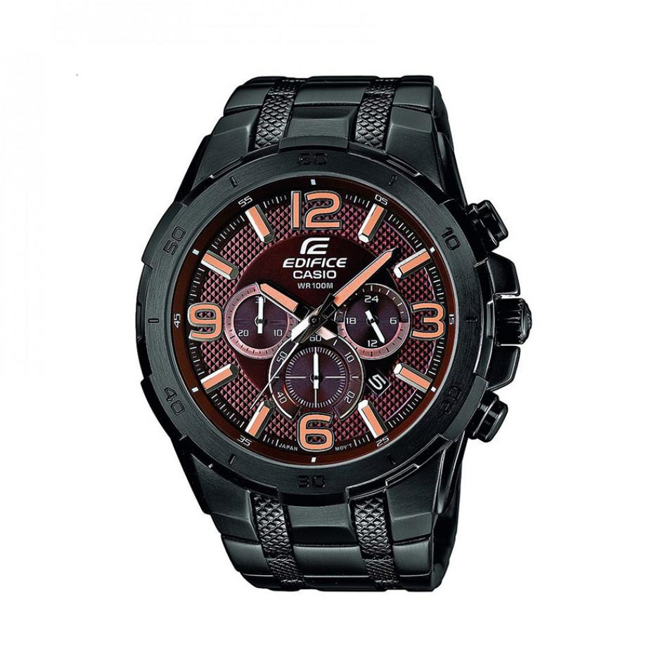 Ανδρικό ρολόι CASIO Edifice EFR-538BK-5AVUEF EFR538BK5AVUEF