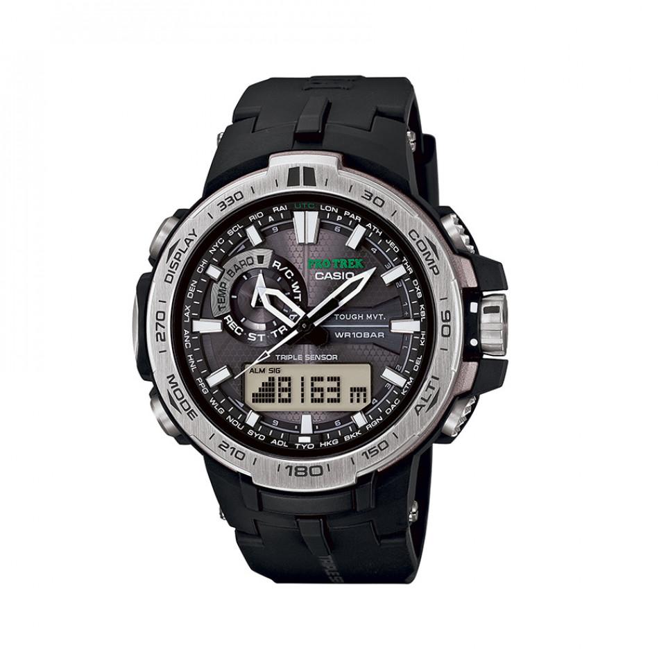 Ανδρικό ρολόι CASIO Pro Trek PRW-6000-1ER PRW60001ER