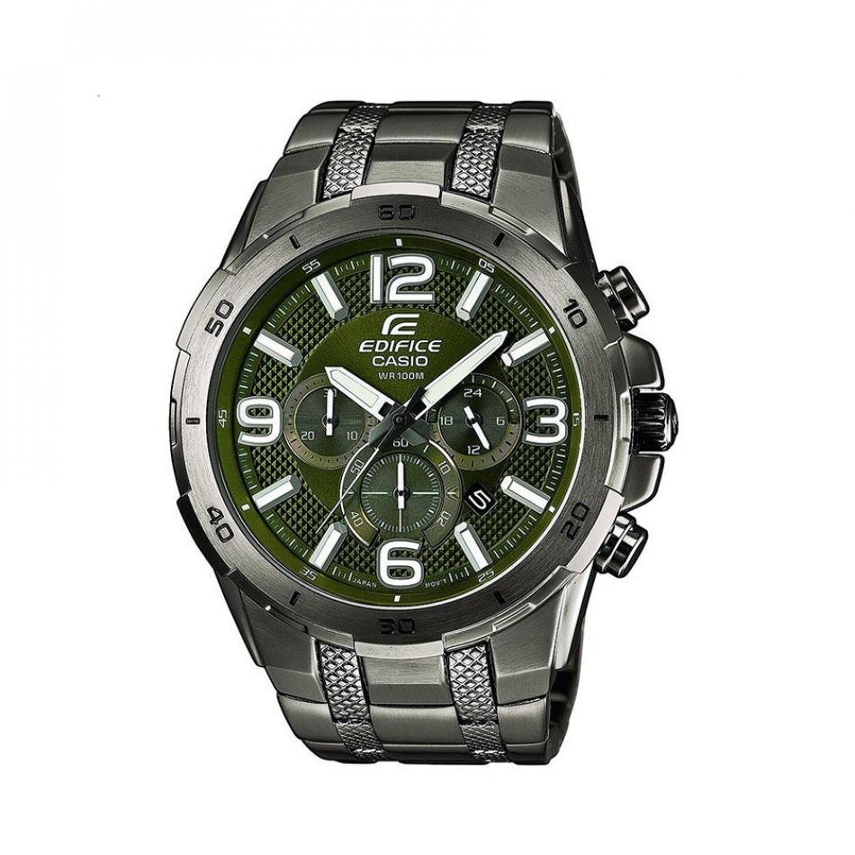 Ανδρικό ρολόι CASIO Edifice EFR-538BK-3AVUEF EFR538BK3AVUEF