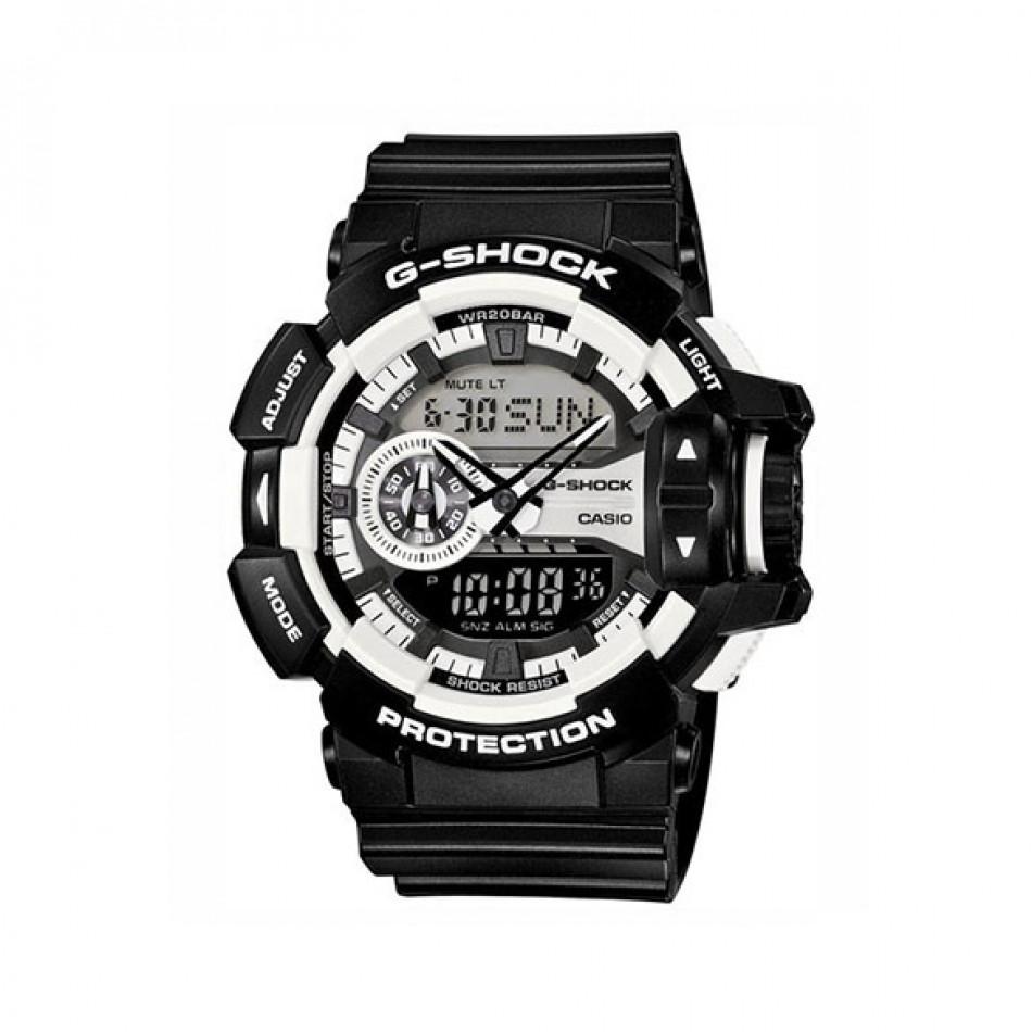 Ανδρικό ρολόι CASIO g-shock-ga-400-1aer-ga4001aer GA4001AER
