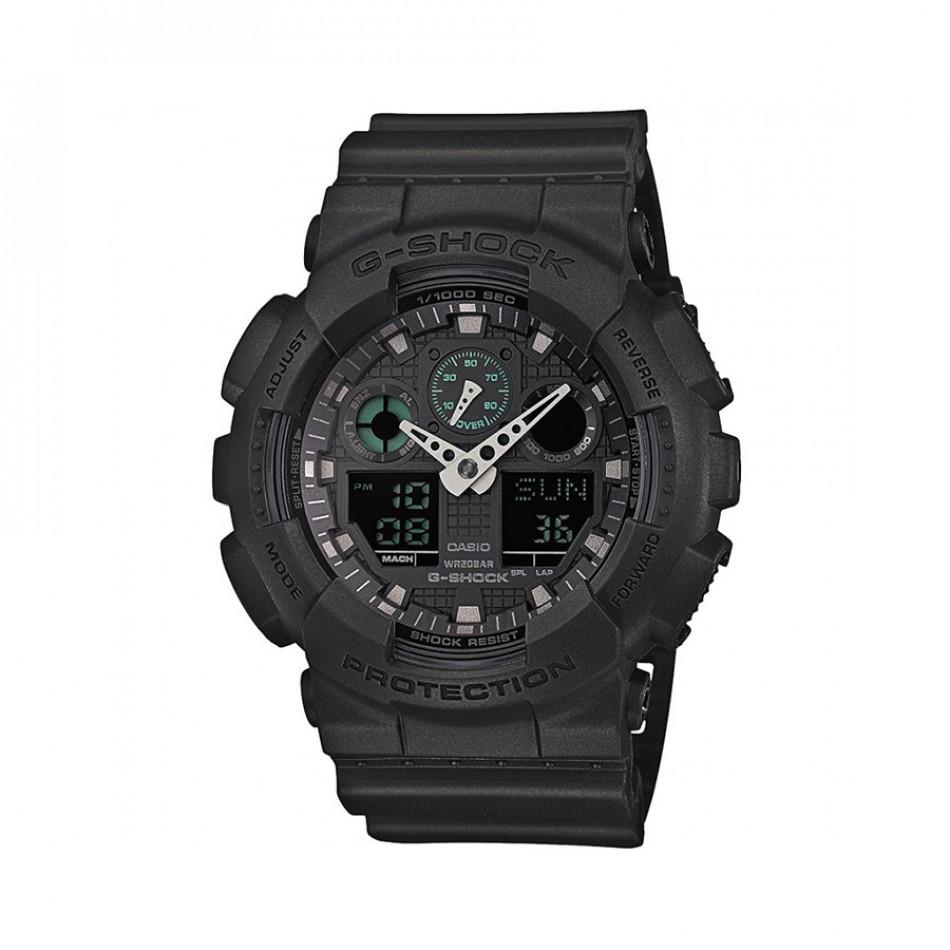 Ανδρικό ρολόι CASIO G-shock GA-100MB-1AER GA100MB1AER