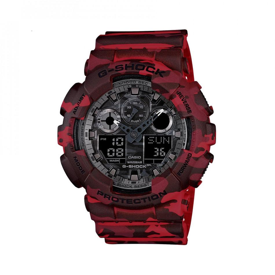 Ανδρικό ρολόι CASIO G-shock GA-100CM-4AER GA100CM4AER
