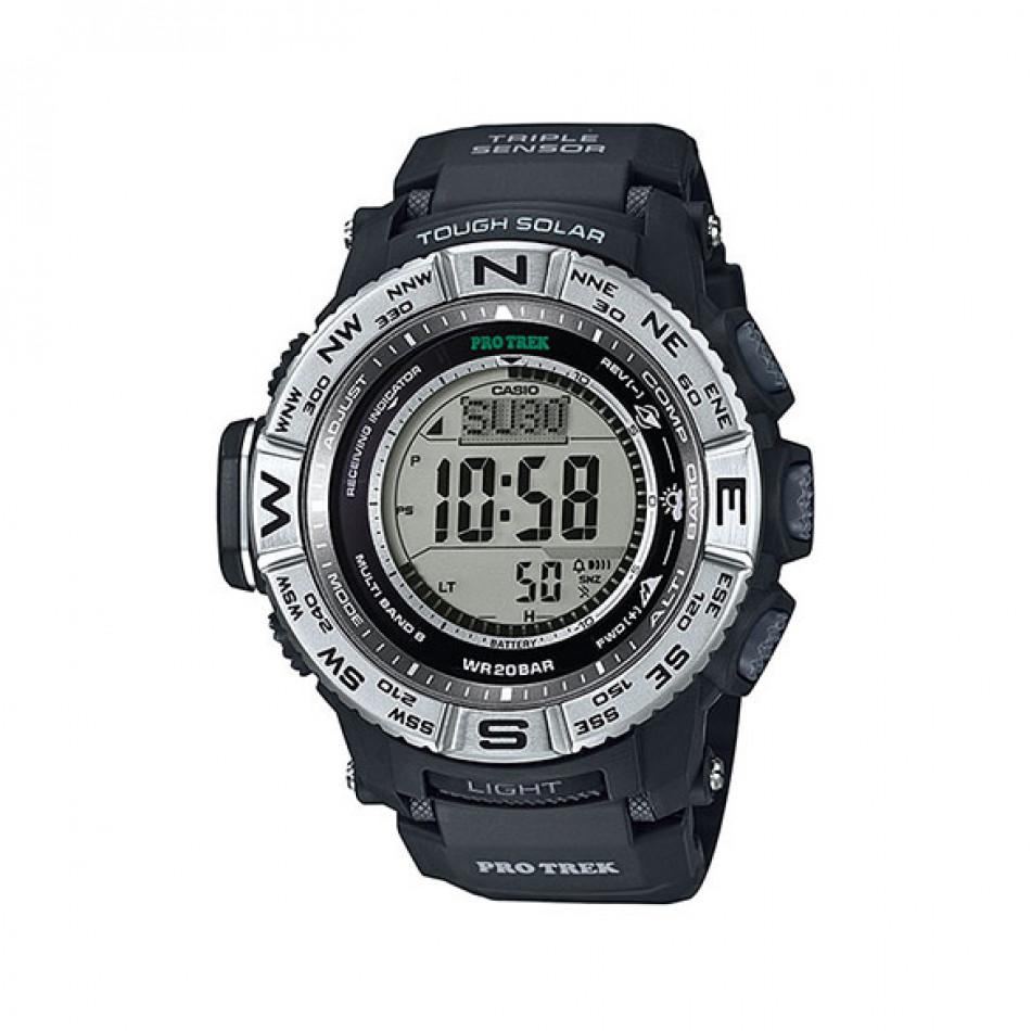 Ανδρικό ρολόι CASIO Pro Trek PRW-3500-1ER PRW35001ER