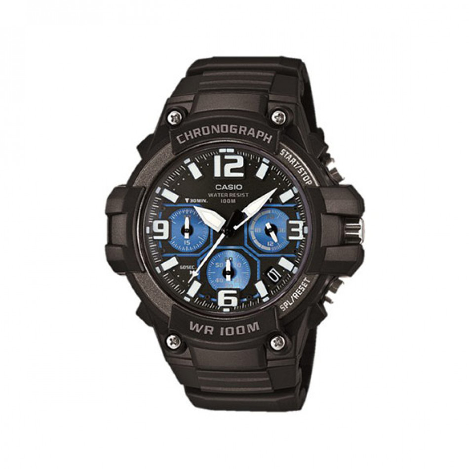 Ανδρικό ρολόι CASIO collection mcw-100h-1a2vef MCW100H1A2VEF