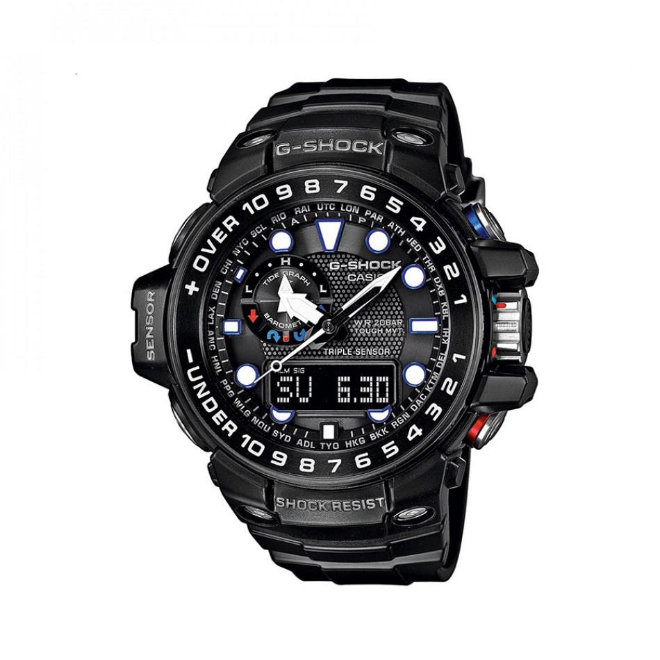 Ανδρικό ρολόι CASIO Gulfmaster G-shock GWN-1000B-1AER GWN1000B1AER