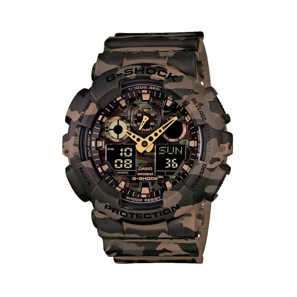 Ανδρικό ρολόι CASIO G-shock GA-100CM-5AER GA100CM5AER