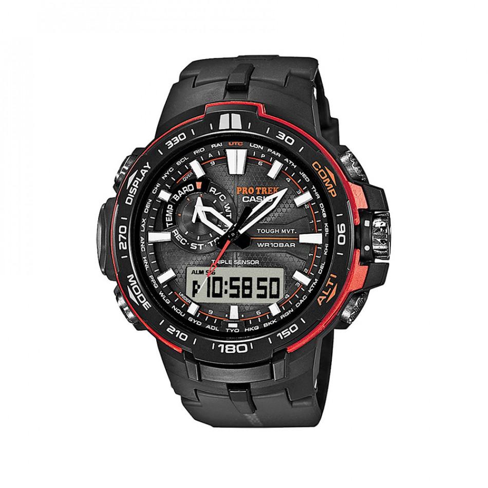 Ανδρικό ρολόι CASIO pro trek prw-6000y-1er PRW6000Y1ER
