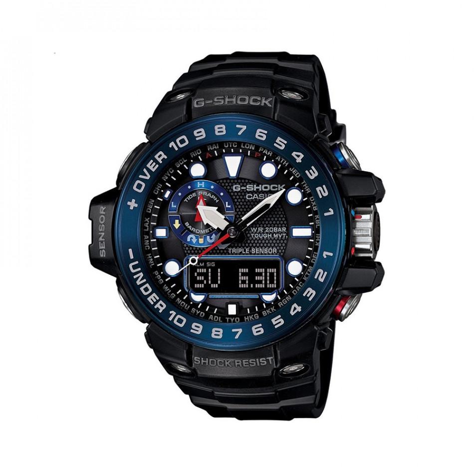 Ανδρικό ρολόι CASIO Gulfmaster G-shock GWN-1000B-1BER GWN1000B1BER