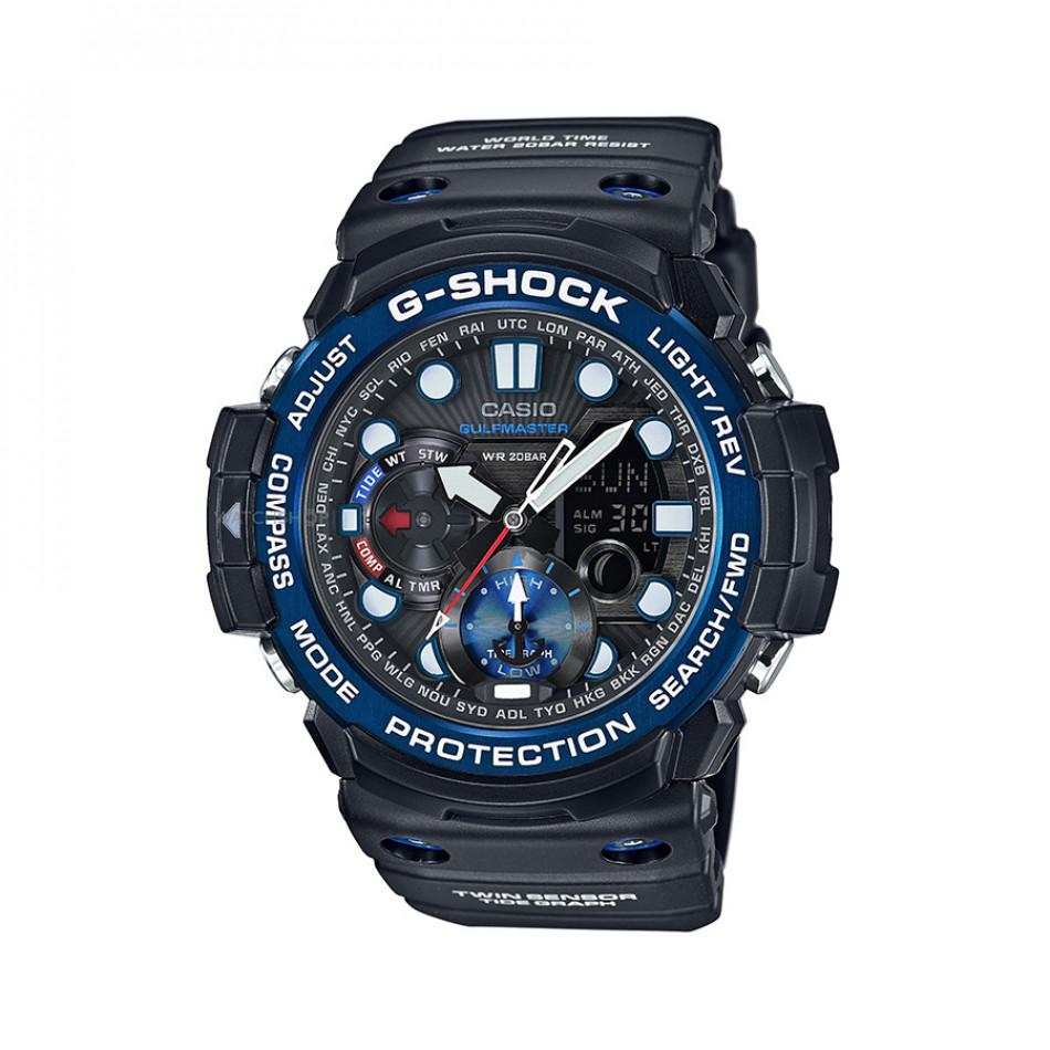 Ανδρικό ρολόι CASIO Gulfmaster G-shock GN-1000B-1AER GN1000B1AER