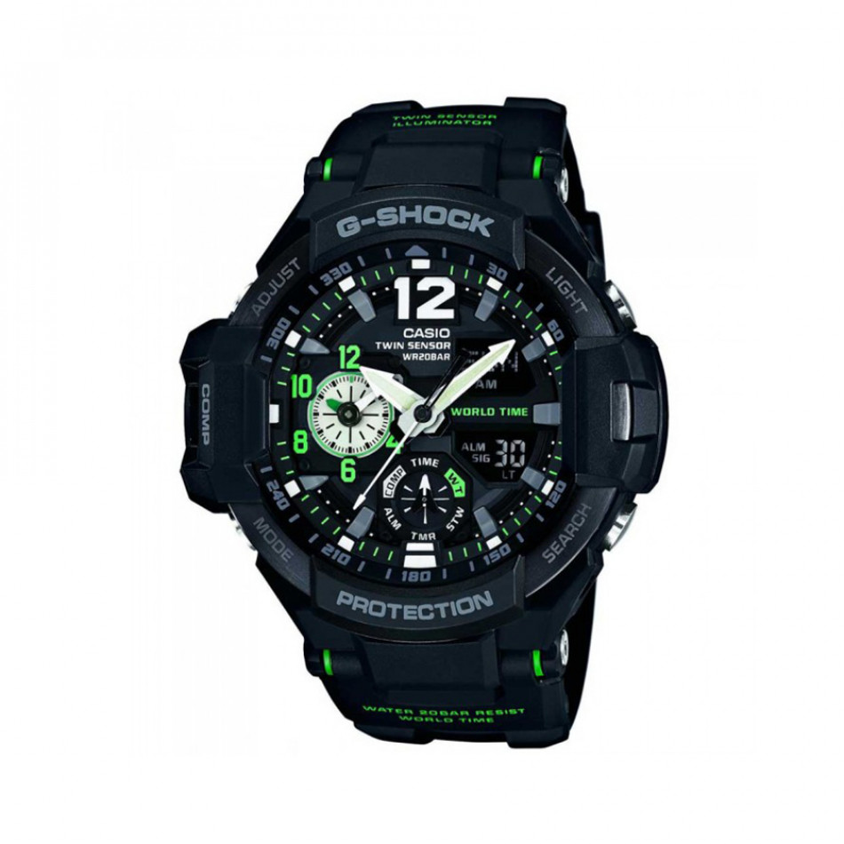 Ανδρικό ρολόι CASIO Gravitymaster G-shock GA-1100-1A3ER GA11001A3ER