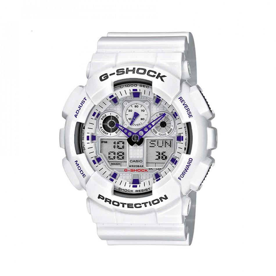 Ανδρικό ρολόι CASIO G-shock GA-100A-7AER GA100A7AER