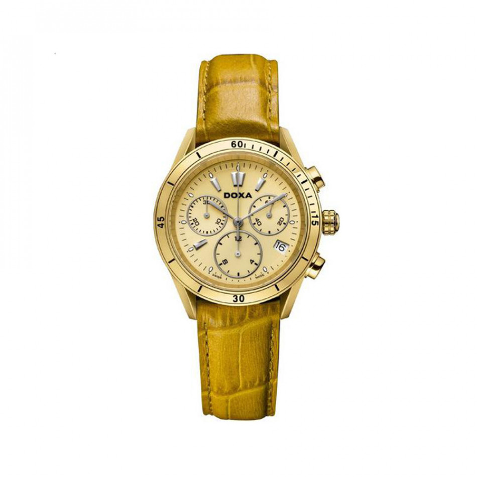 Ανδρικό ρολόι Doxa Trofeo Gold Dial Ladies Watch 2783504102