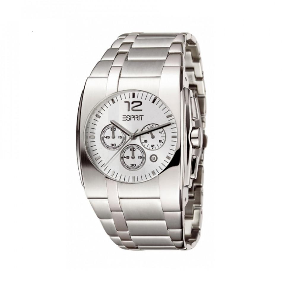Ανδρικό ρολόι Esprit Quartz Chronograph Silver Dial  es101061001