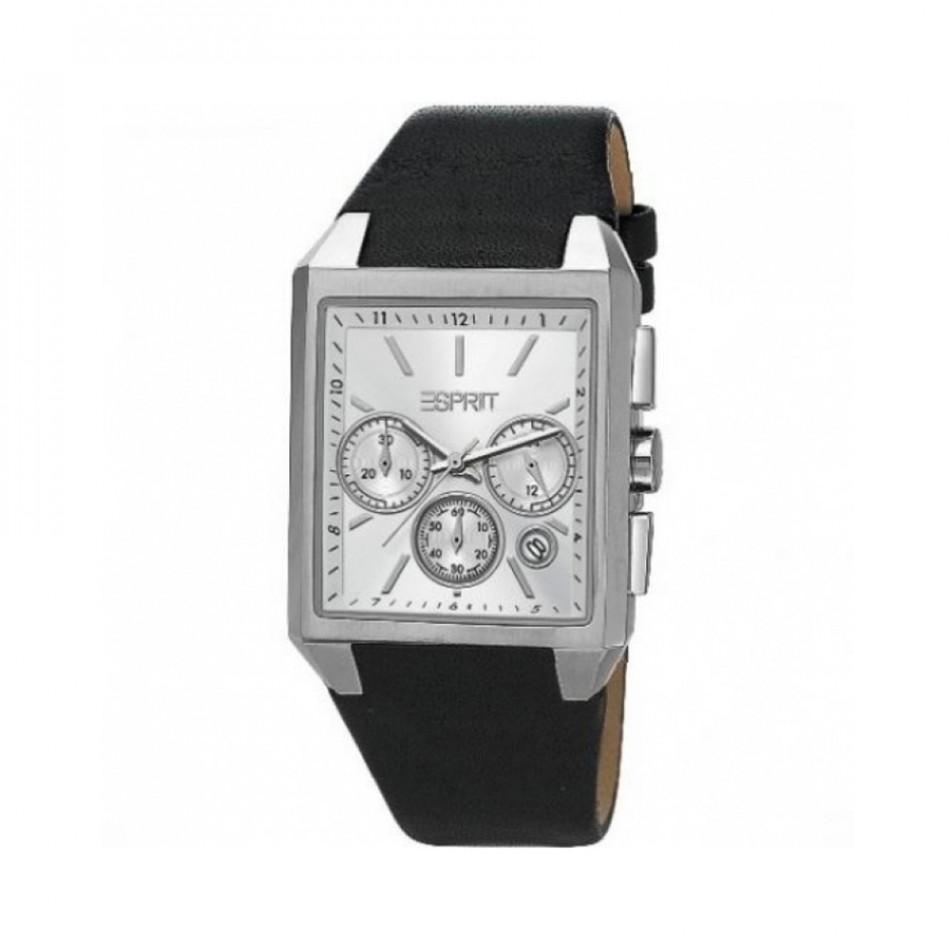 Ανδρικό ρολόι Esprit Quartz Chronograph Silver Dial ES104061001 ES104061001