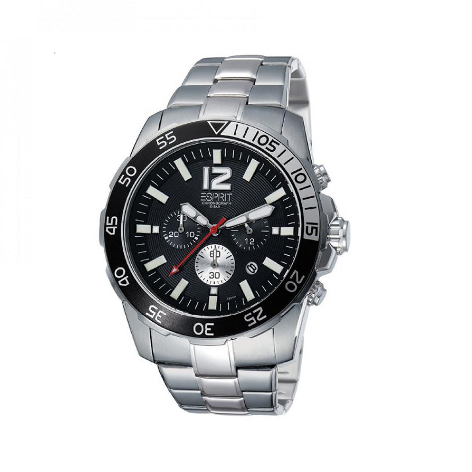 Ανδρικό ρολόι Esprit Quartz Chronograph Black Dial ES102511004 es102511004