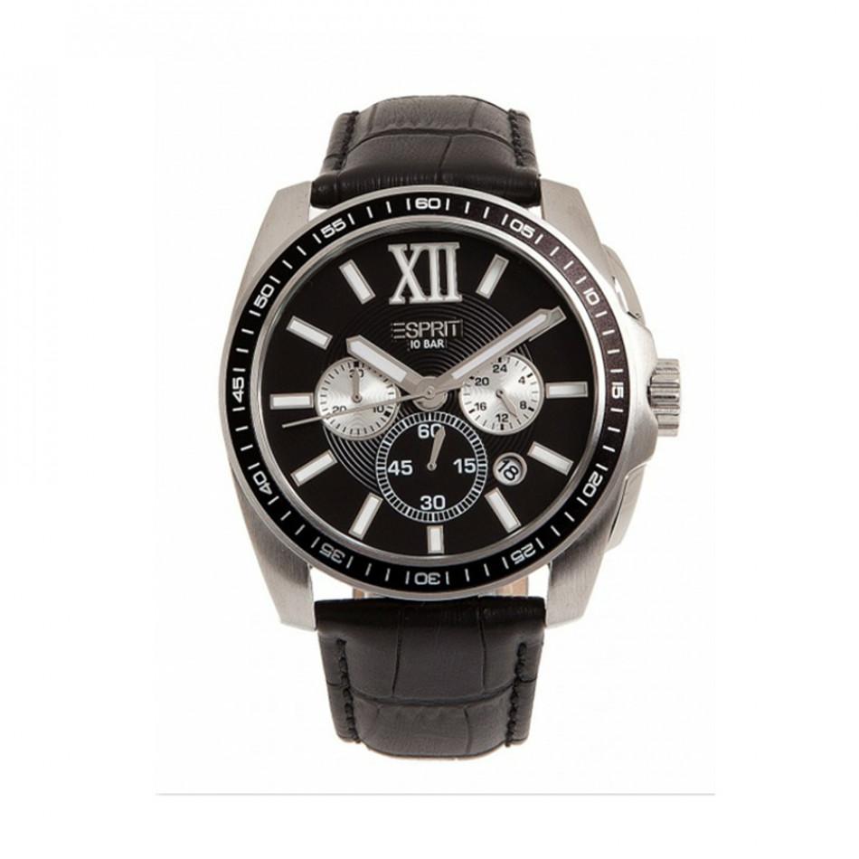 Ανδρικό ρολόι Esprit Quartz Chronograph PVD Black  es103591001