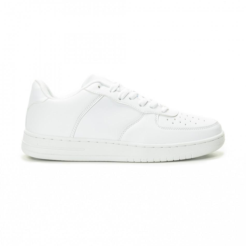 Ανδρικά λευκά sneakers skater μοντέλο it221018-26