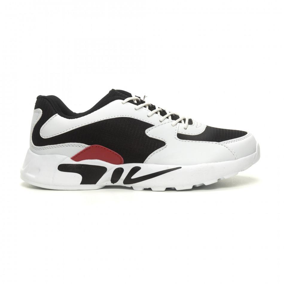 Ανδρικά ελαφριά αθλητικά παπούτσια με χοντρή σόλα  it040619-12