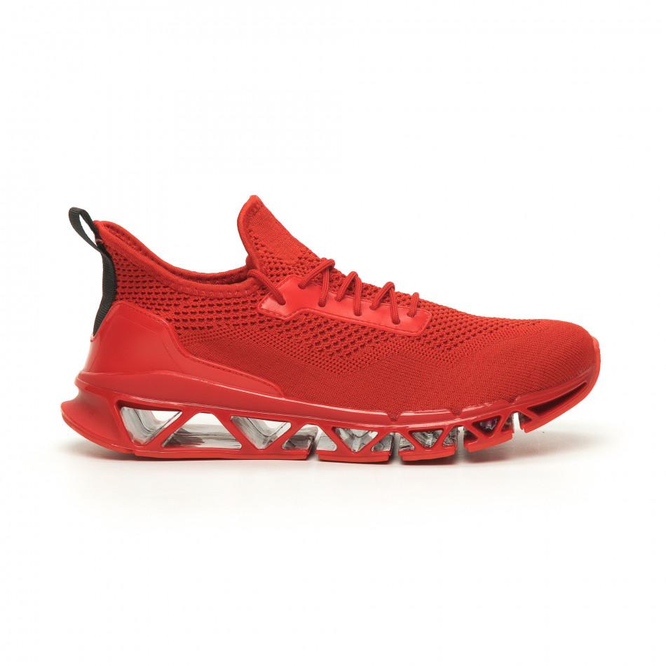 Ανδρικά αθλητικά παπούτσια Knife κόκκινα it050719-1