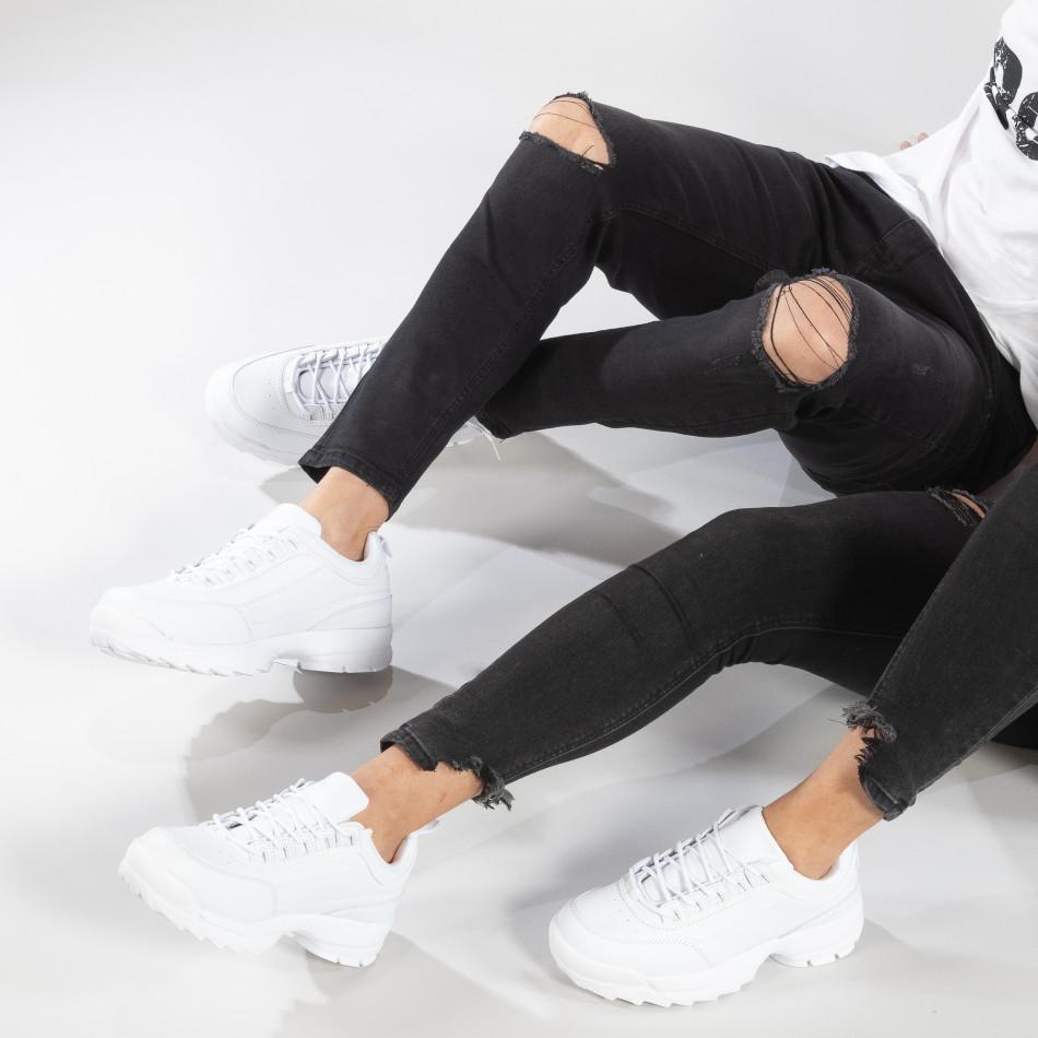 Λευκά Chunky αθλητικά για ζευγάρια  cs-it150319-7-it150319-52
