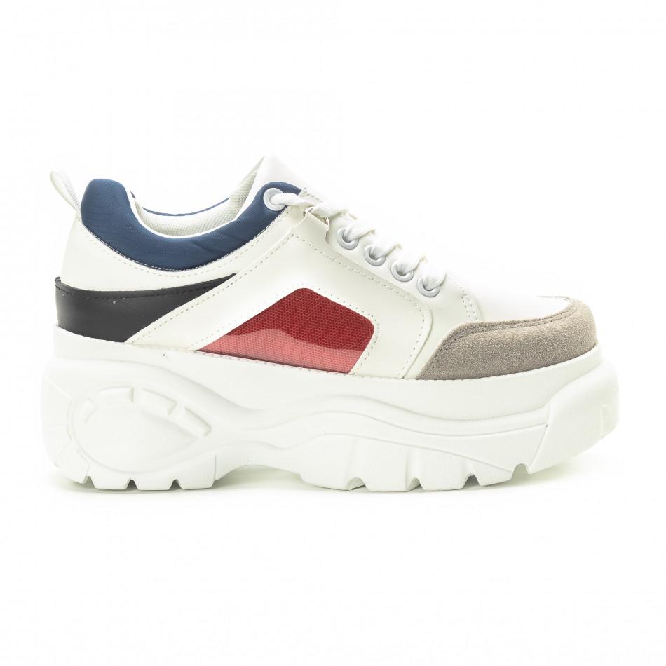 Chunky γυναικεία sneakers με πλατφόρμα it301118-15 - Fashionmix.gr eecab315ec1
