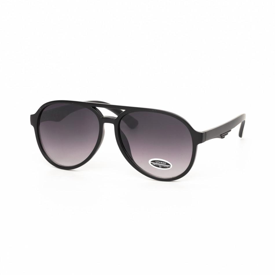 Ανδρικά μαύρα γυαλιά ηλίου it030519-34