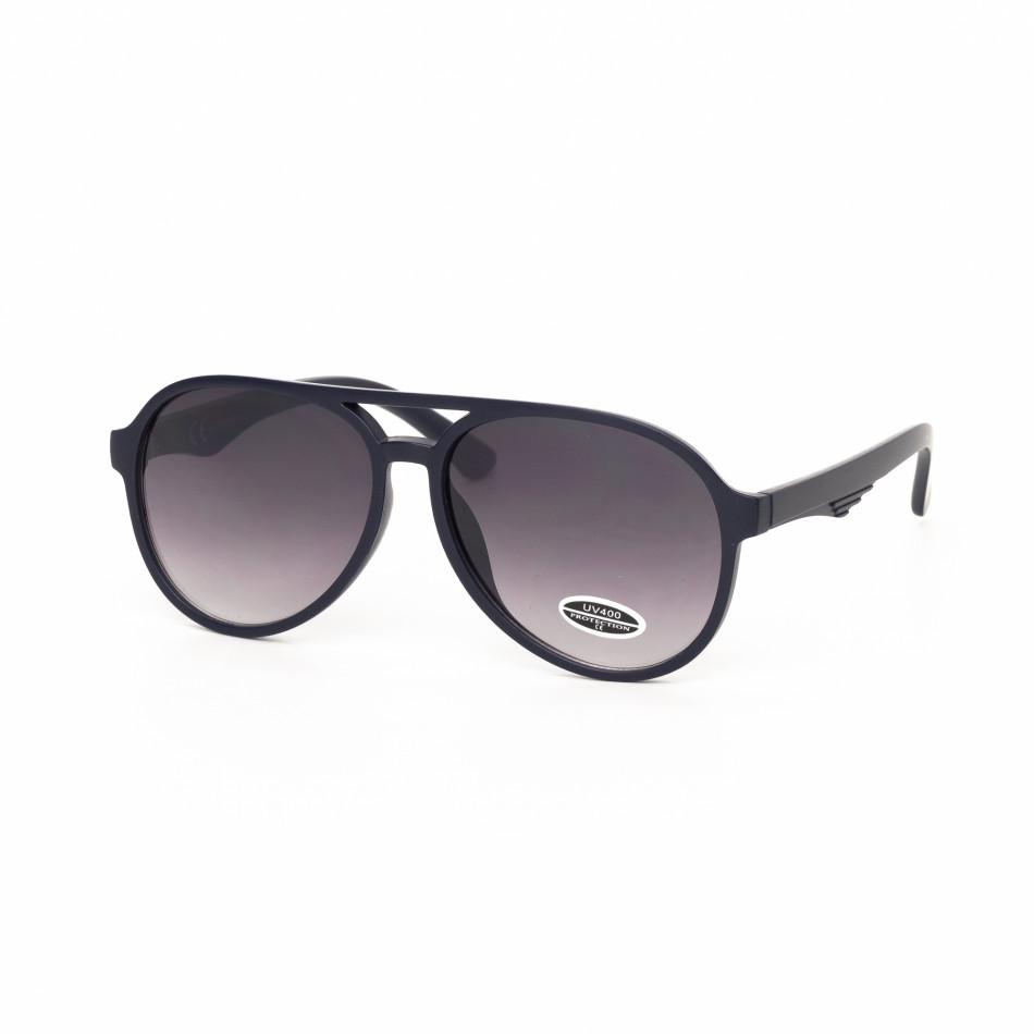Ανδρικά μπλε γυαλιά ηλίου  it030519-35