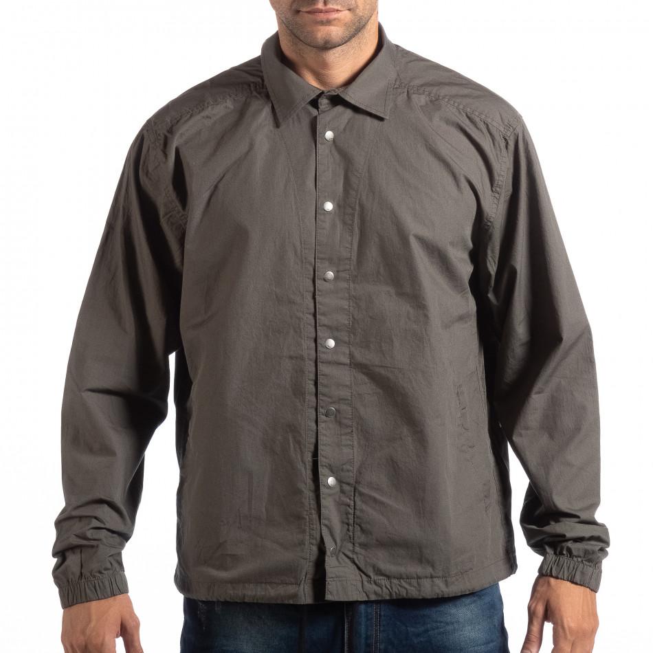 Ανδρικό πράσινο πουκάμισο RESERVED lp290918-170