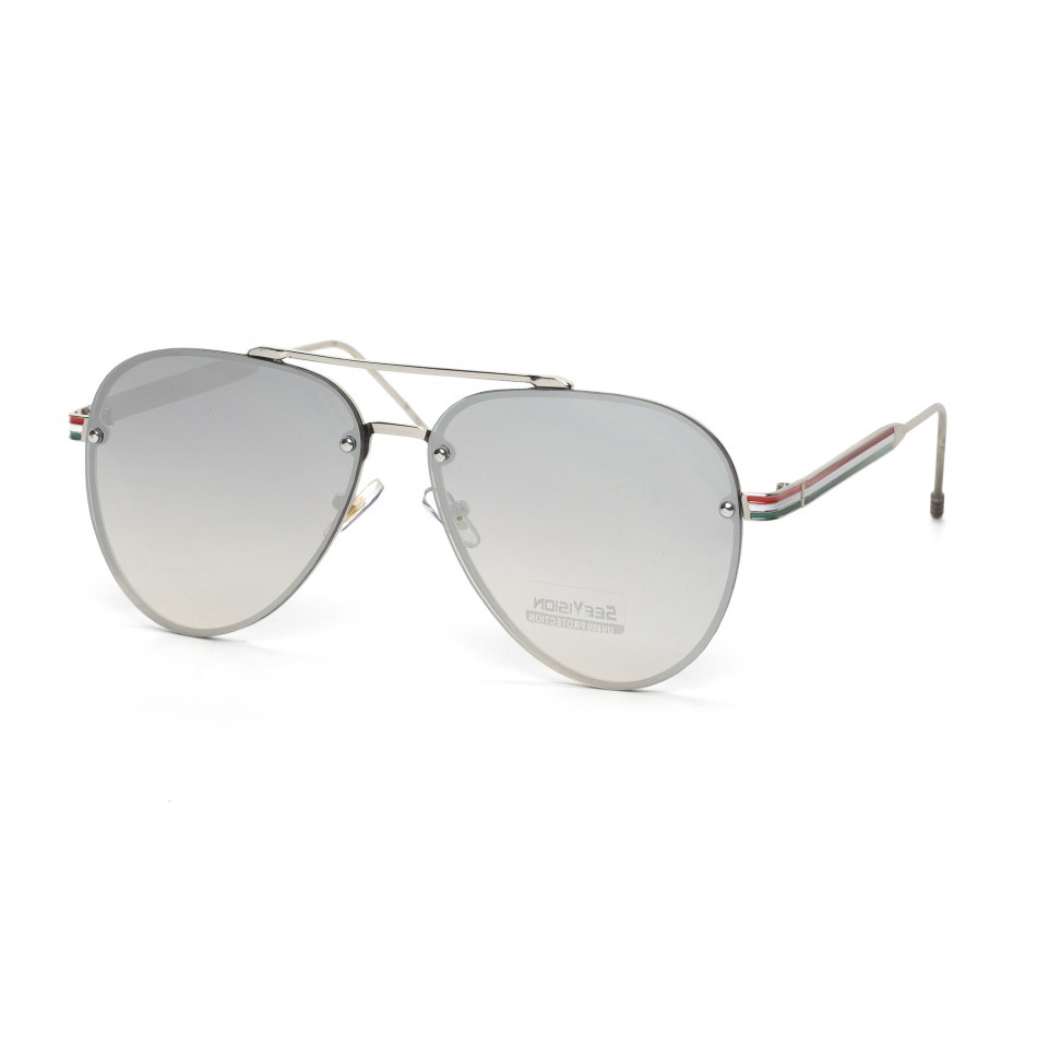 Ανδρικά γκρι γυαλιά ηλίου See vision it030519-6