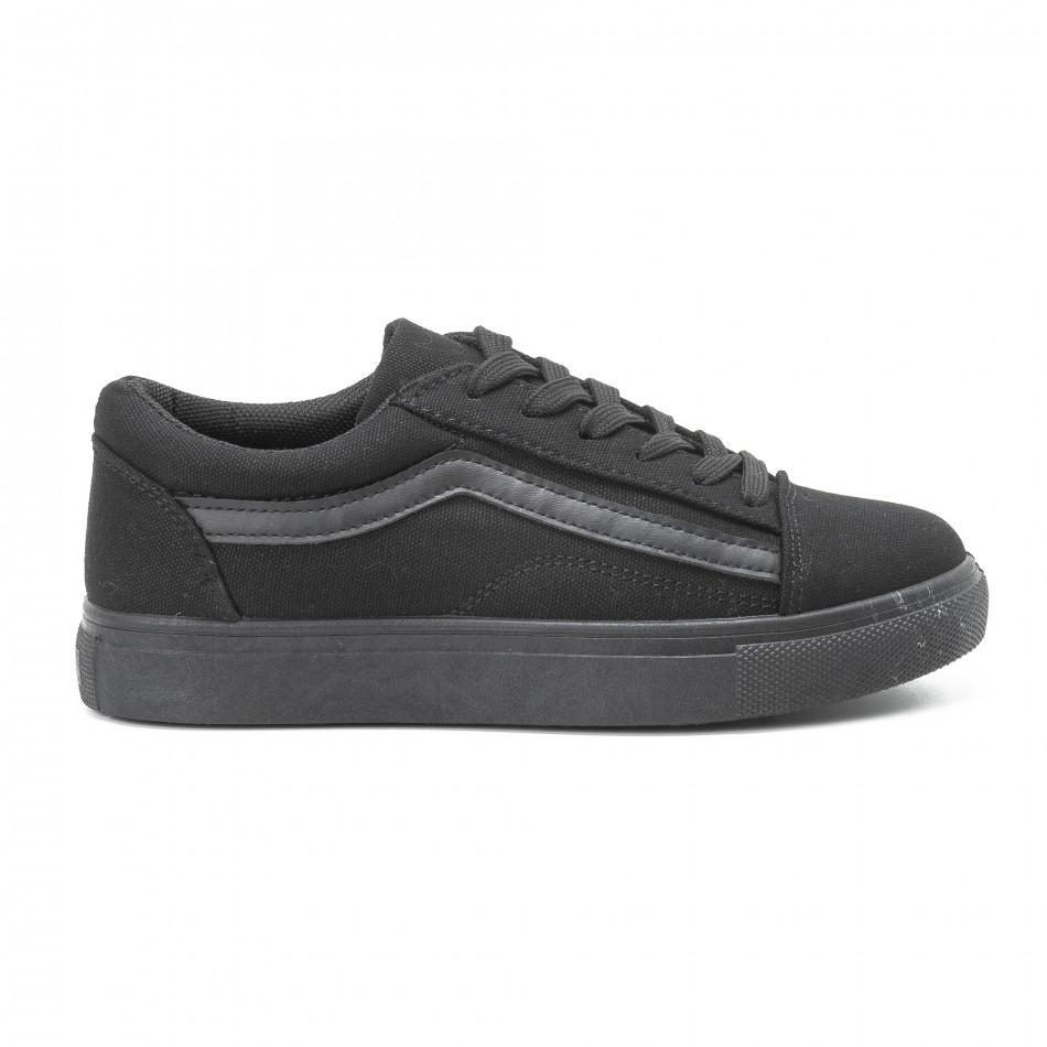 Γυναικεία μαύρα sneakers Old Skool All Black it140918-46