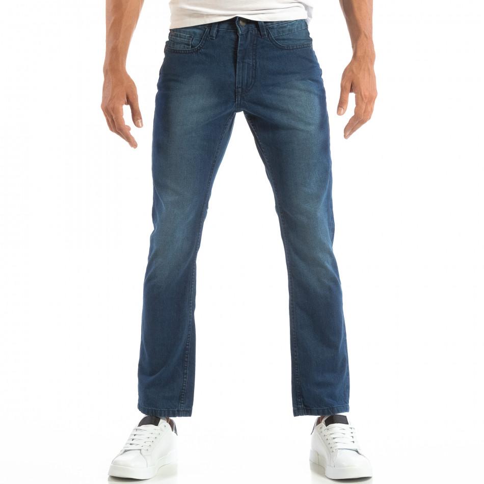 Ανδρικό γαλάζιο τζιν Regular fit House lp060818-24