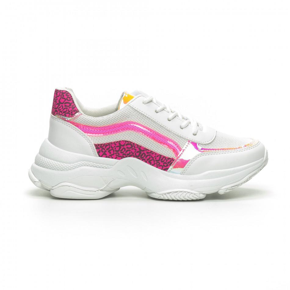 Γυναικεία λευκά αθλητικά παπούτσια Marquiiz it240419-61-2
