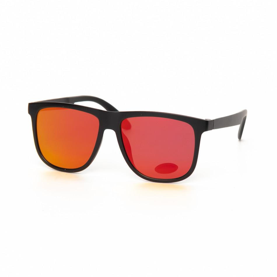Ανδρικά κόκκινα γυαλιά ηλίου Traveler it030519-45