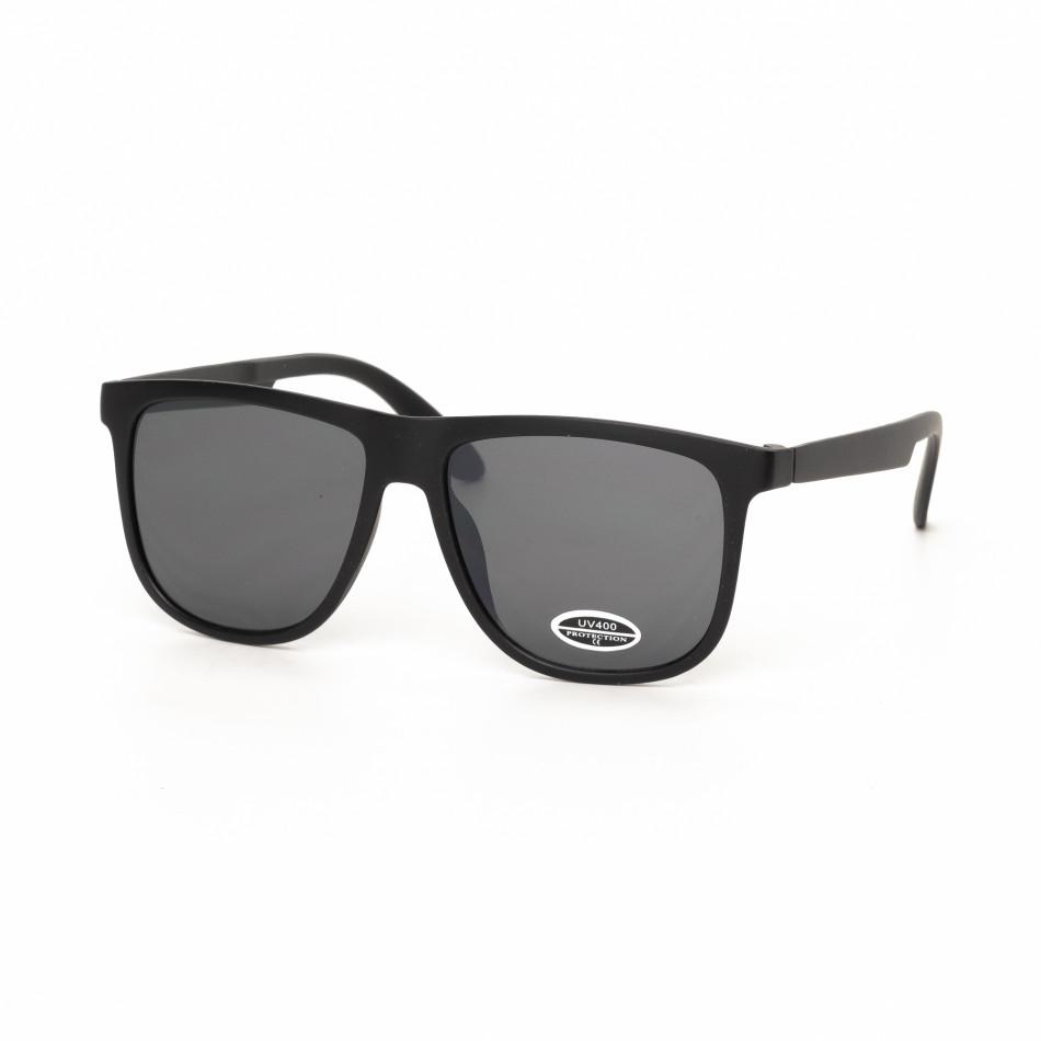 Ανδρικά μαύρα γυαλιά ηλίου Traveler it030519-41