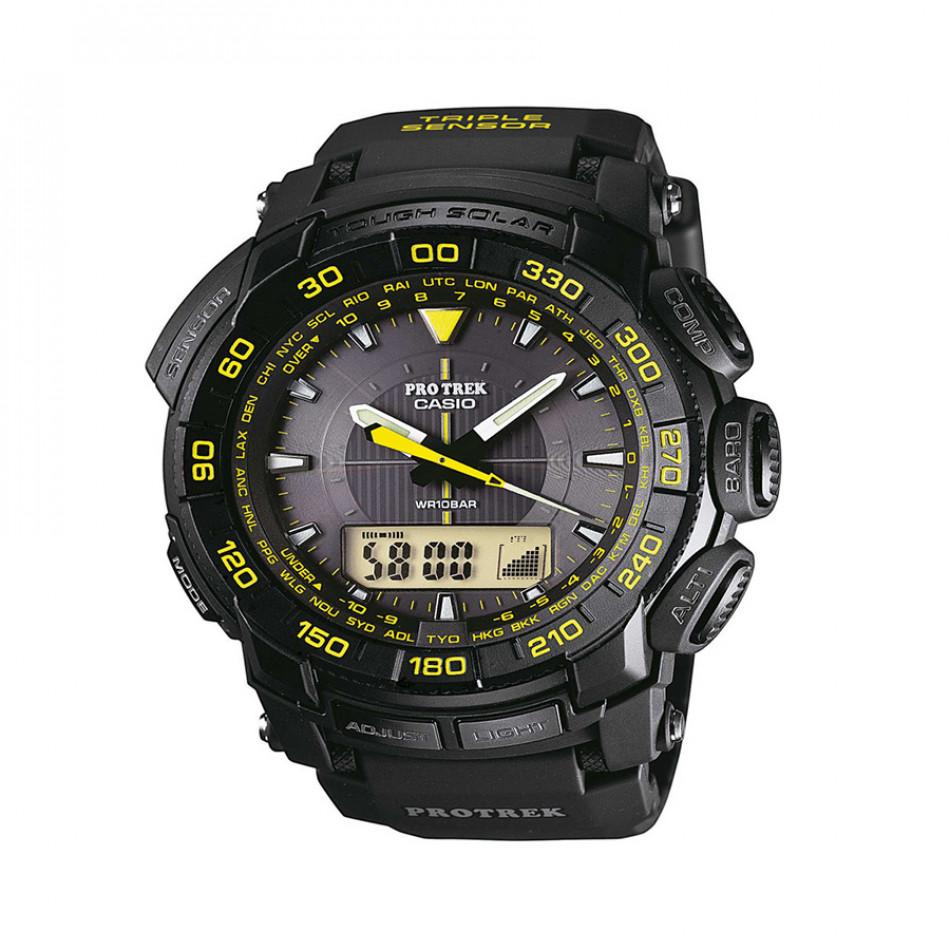 Ανδρικό ρολόι CASIO Pro Trek PRG-550-1A9ER PRG5501A9ER