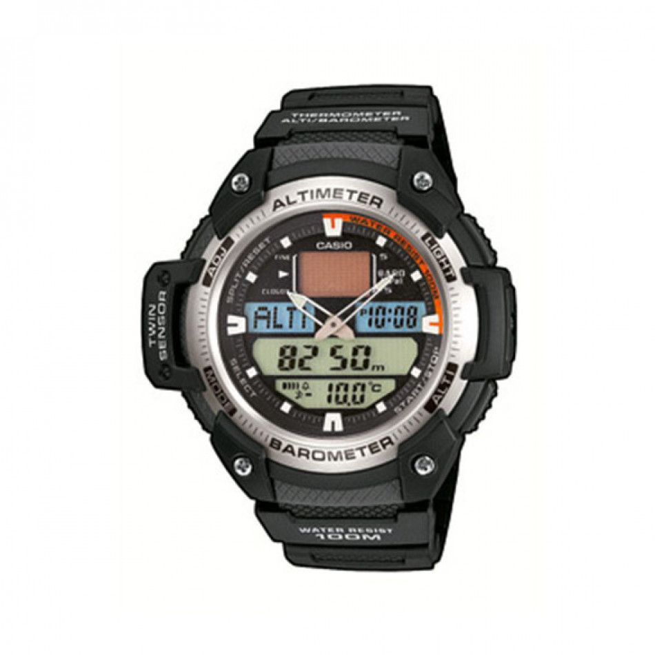 Ανδρικό ρολόι CASIO collection sgw-400h-1bver SGW400H1BVER