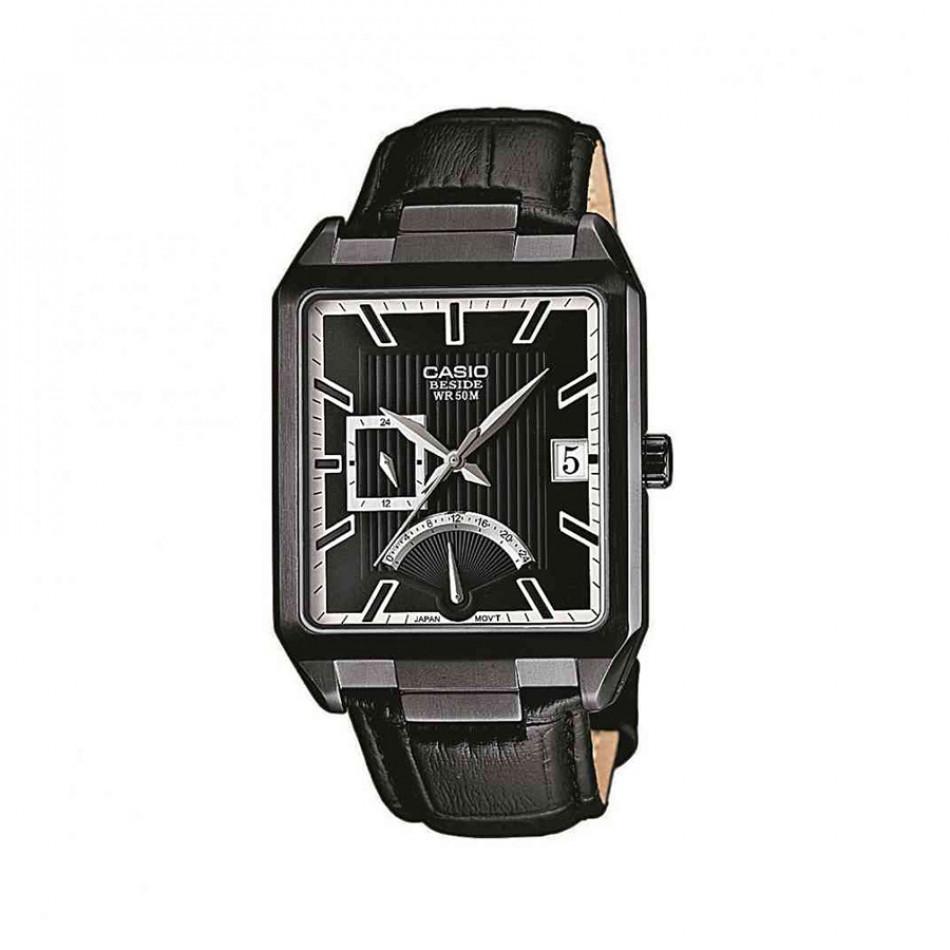 Ανδρικό ρολόι CASIO Beside bem-309bl-1avef BEM309BL1AVEF