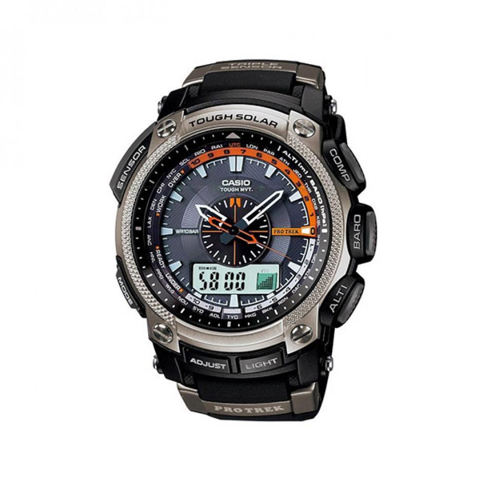 Ανδρικό ρολόι CASIO Pro Trek prw-5000-1er PRW50001ER