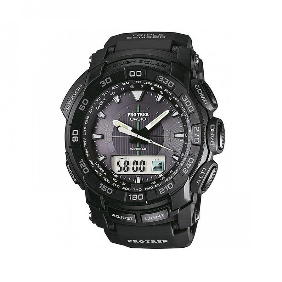 Ανδρικό ρολόι CASIO Pro Trek PRG-550-1A1ER PRG5501A1ER