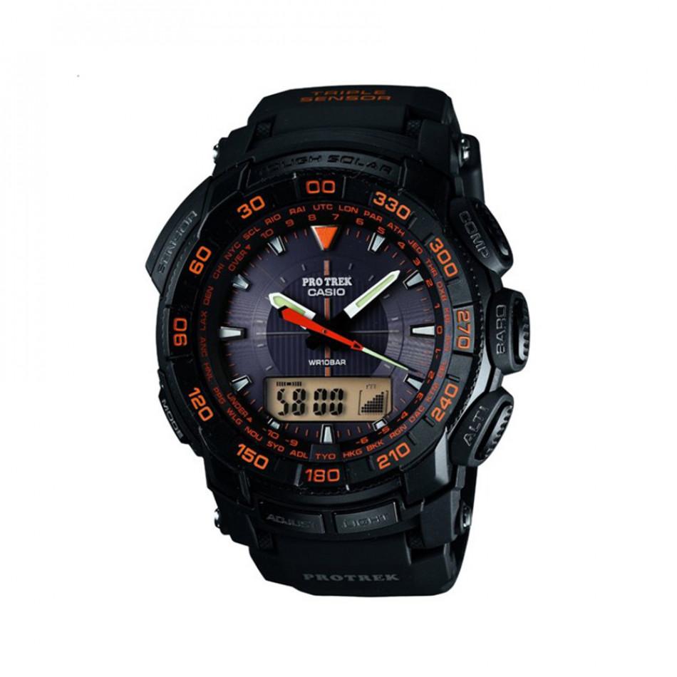 Ανδρικό ρολόι CASIO Pro Trek PRG-550-1A4ER PRG5501A4ER