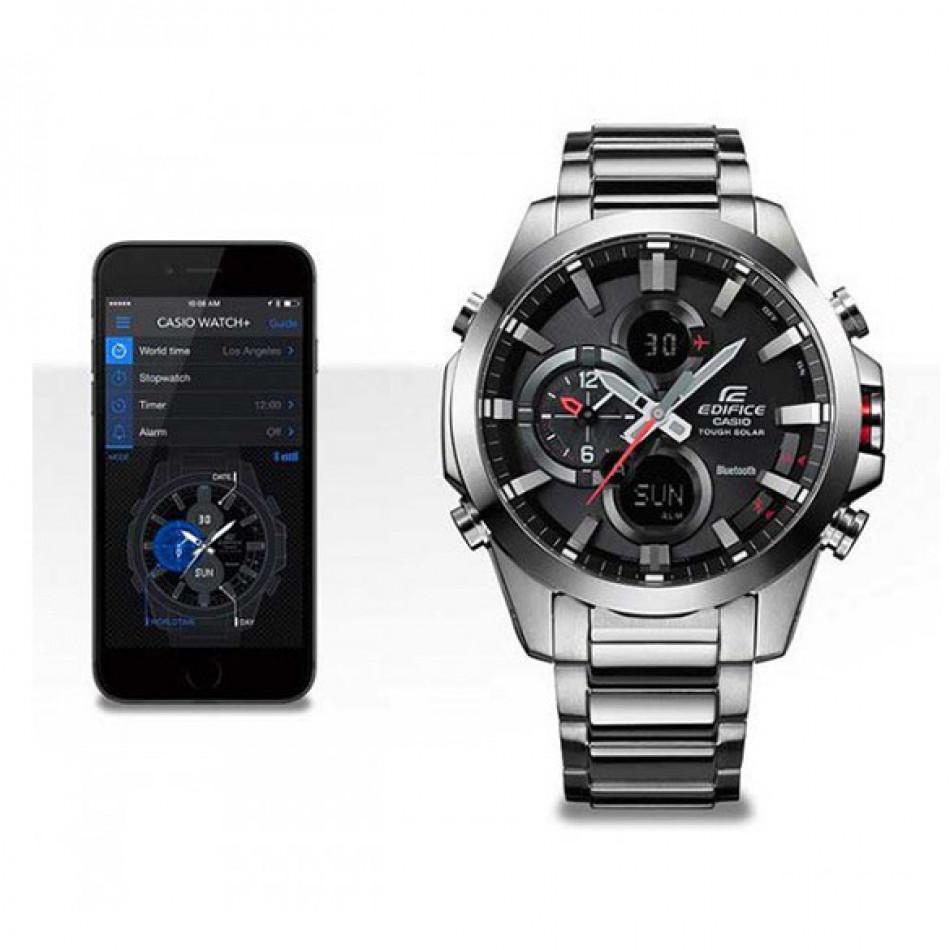 Ανδρικό ρολόι CASIO Casio Edifice Bluetooth ECB-500D-1AER ECB500D1AER
