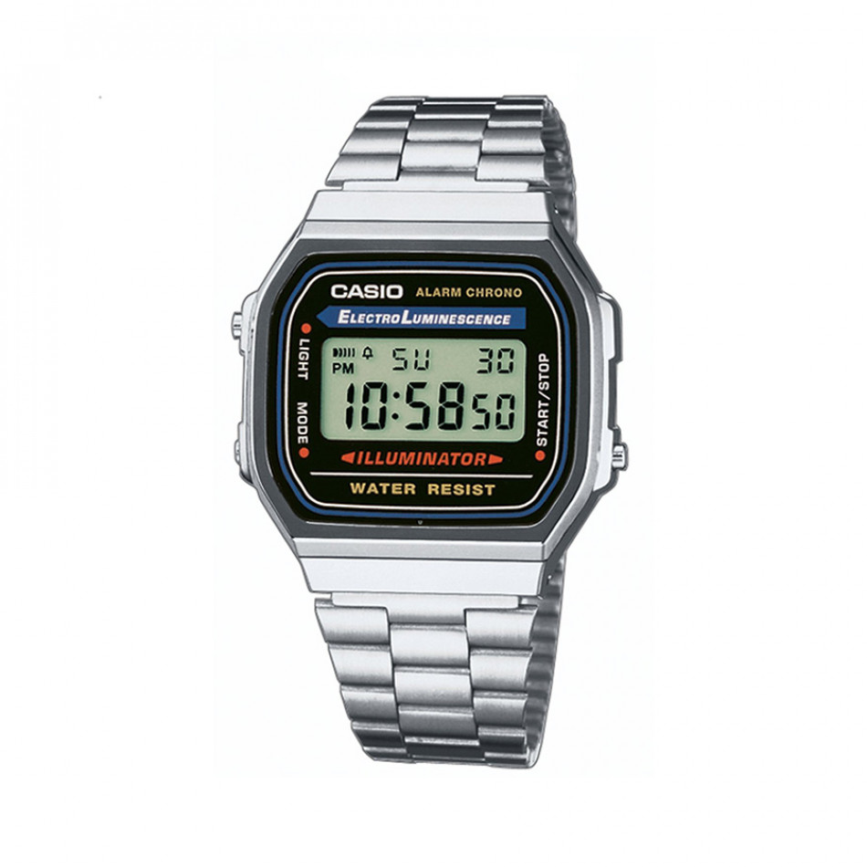 Ανδρικό ρολόι CASIO Collection A168WA-1YES A168wa1yes