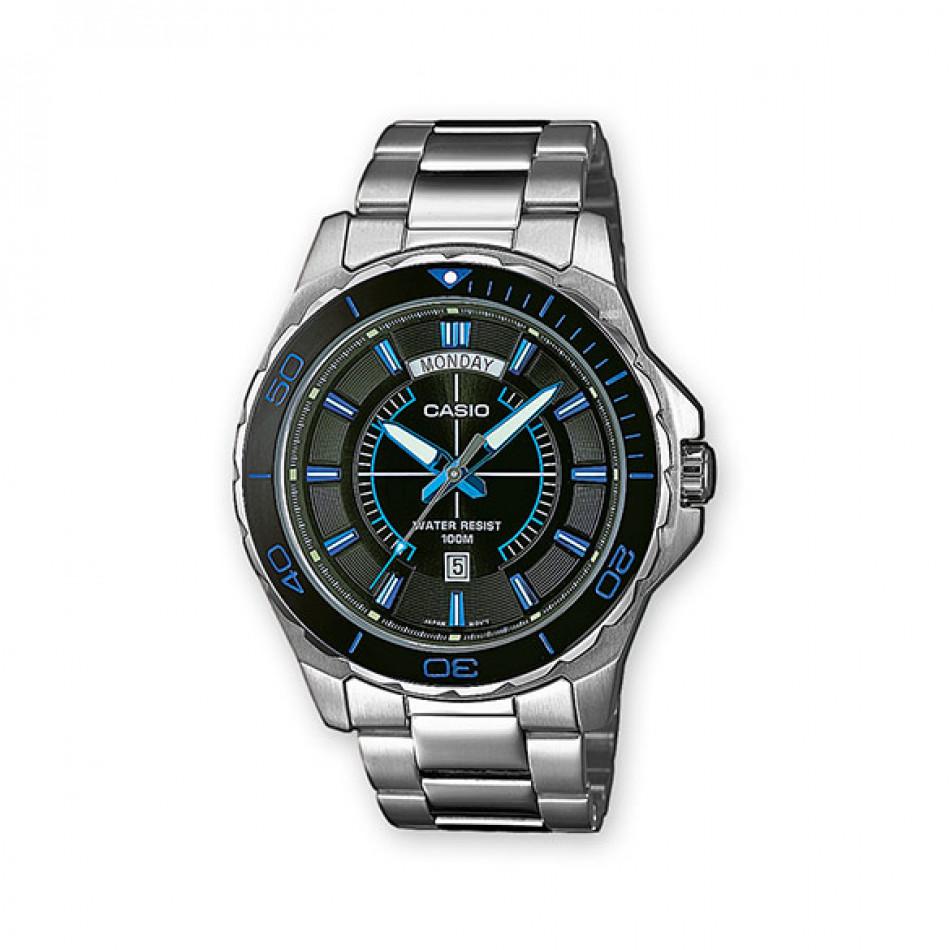Ανδρικό ρολόι CASIO collection mtd-1076d-1a2vef MTD1076D1A2VEF