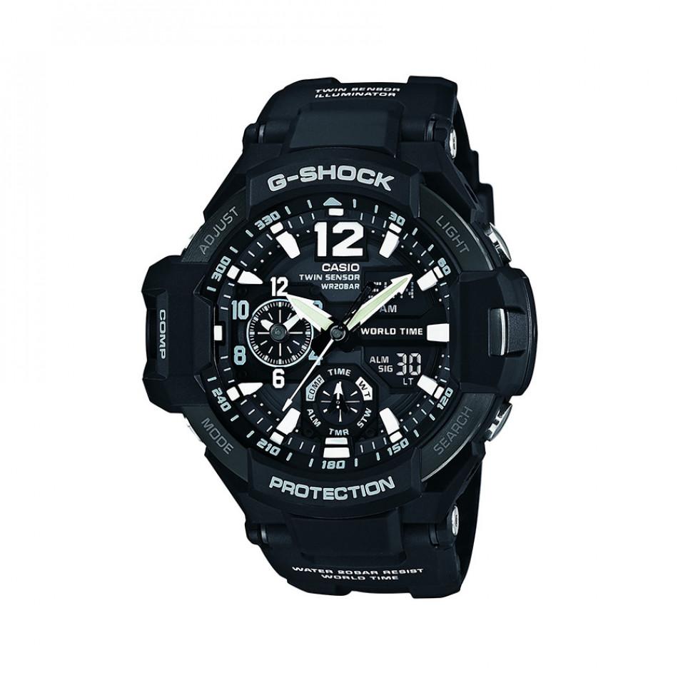 Ανδρικό ρολόι CASIO Gravitymaster G-shock GA-1100-1AER GA11001AER