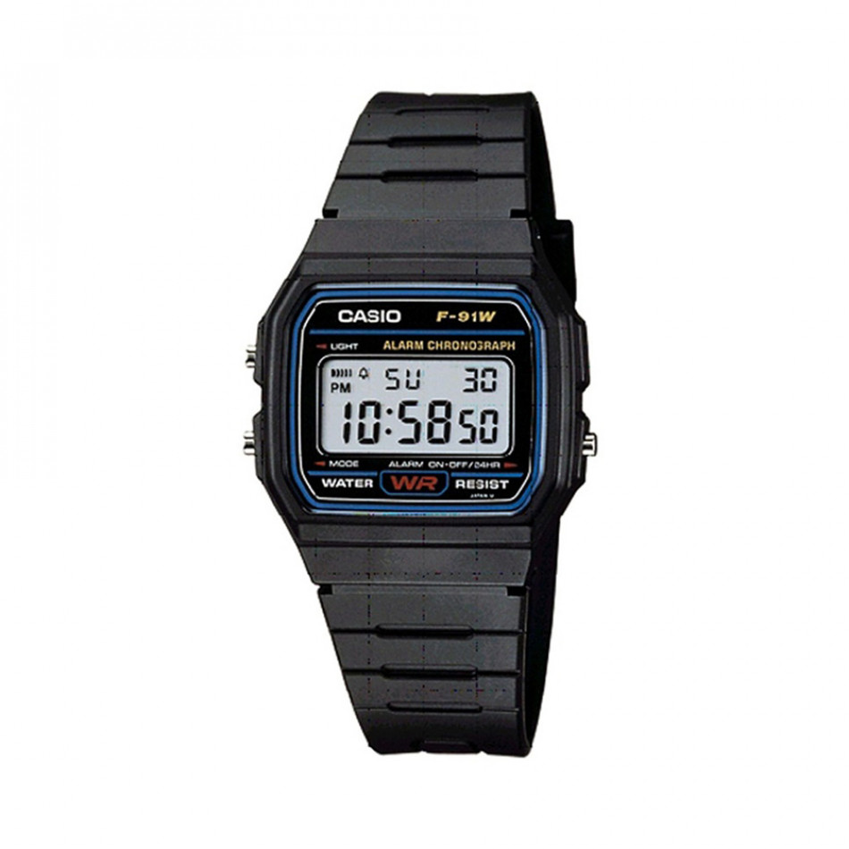 Ανδρικό ρολόι CASIO Collection F91W-1YEF F91W1YEF